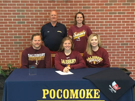 Farrace intends to play field hockey at Salisbury University next season.