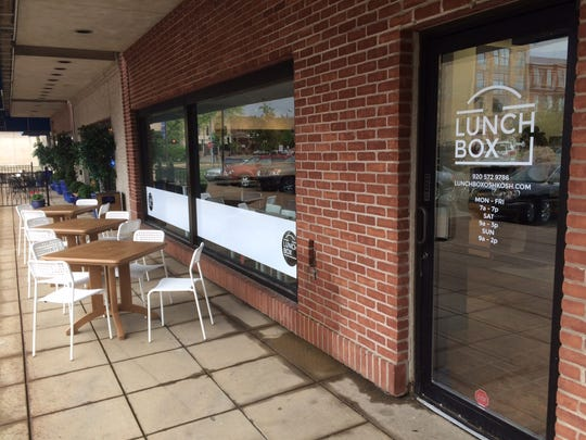 Lunch Box, a new restaurant in downtown Oshkosh, opened Tuesday, May 23, 2017, at 200 City Center, the former site of Blimpie Subs, which closed in March.