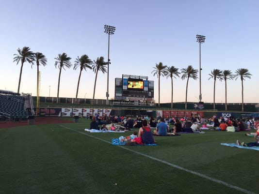 Goodyear Ballpark Movies