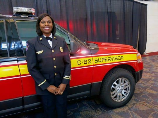 Deborah Mills, Shreveport Fire Department EMS supervisor,