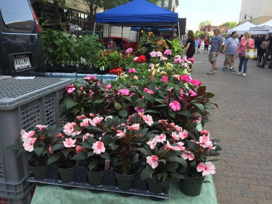 Lafayette's Farmer's Market  is open Saturdays from May through October.