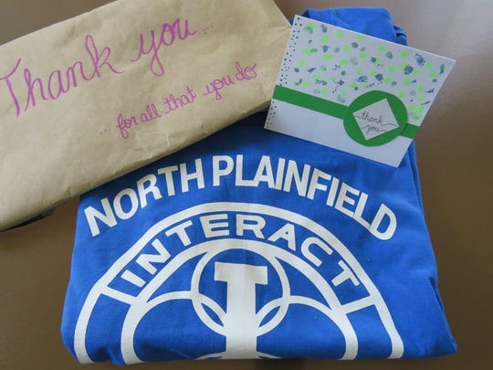 """Thank you"" gift from Interact for Rotary"