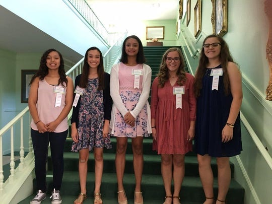 The Abilene Woman's Club honored its Girls of the Month