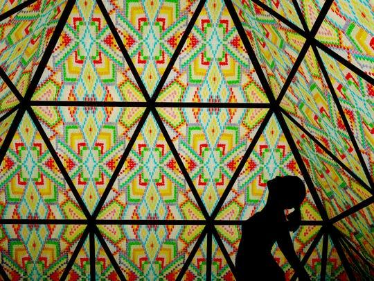 Bay Area artist Dicapria is bringing a gummy bear mandala