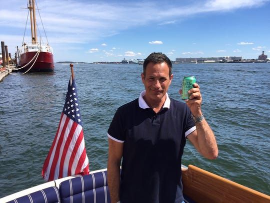 Sam Calagione, co-founder of Dogfish Head Craft Brewery,