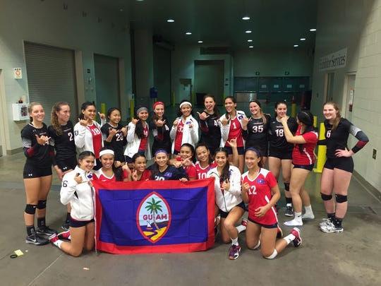 Haggan NexGen volleyball played in the USA Volleyball