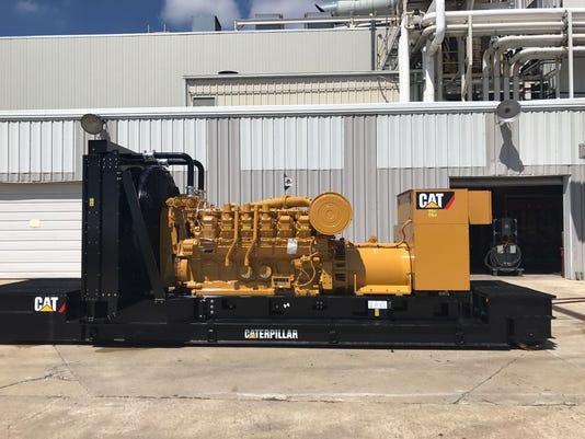 Lafayette S Caterpillar Donates Engine To Haitian Hospital