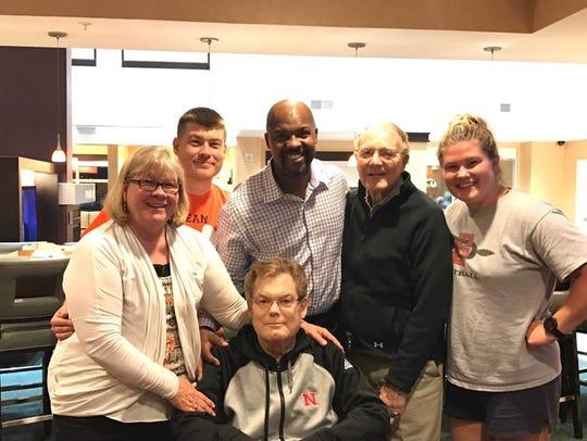 Bo Porter visits Bobby Elliott in Iowa on June 16.