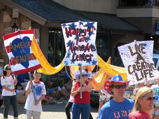 Alpine Arts Center unit at Vail America Days parade
