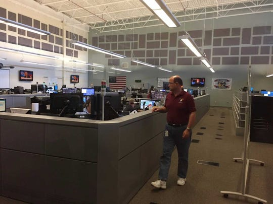 York County's 911 Center, where officials say they were not notified by the manufacturer of the lifespan of software that allows them to page firefighters and EMS personnel.