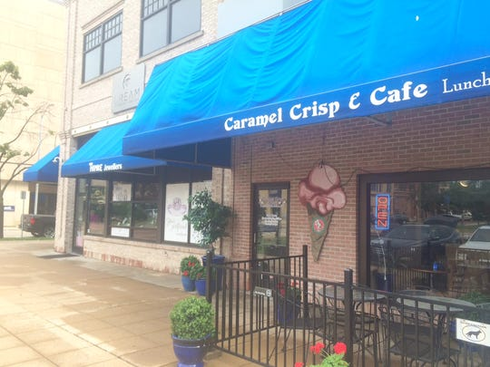 Dream Jewelers, 200 City Center, is moving to a new location at 1075 N. Washburn St. in mid-August. Caramel Crisp next-door will take their old space downtown.