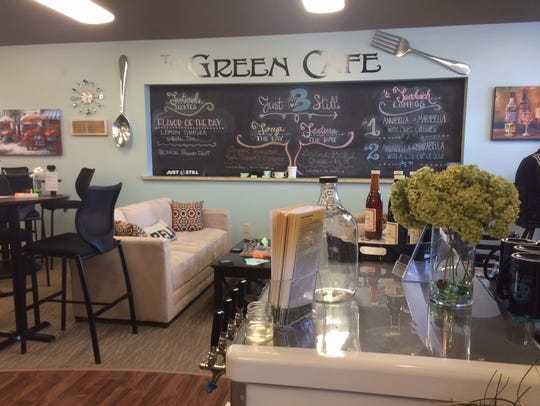 Just B Still and the Green Cafe has expanded its seating