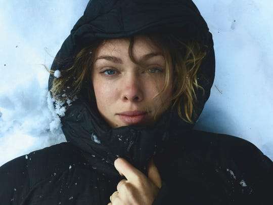 Apple Billboard smartphone photograph of Taylor Rees, shot by Renan Ozturk
