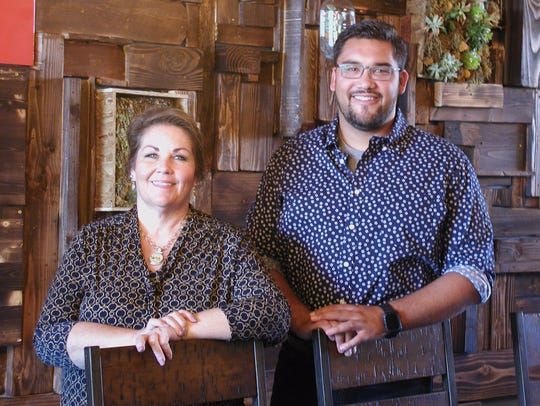 Kelly Marcelino and her son Kyler are general managers