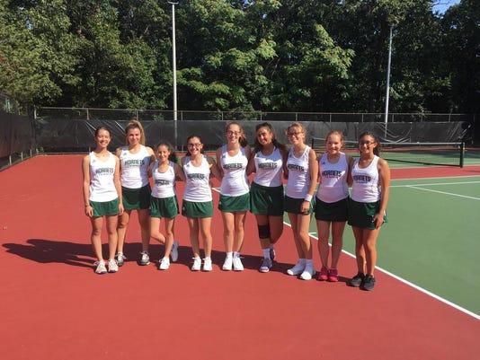 Passaic Valley girls tennis