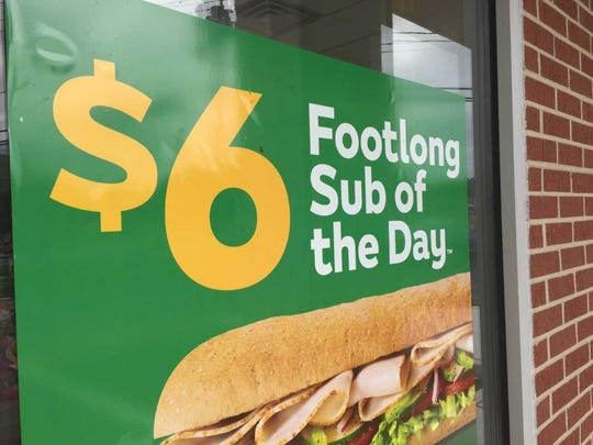A federal appeals court has ruled customers get the same amount of food even when a Footlong is less than a foot long.