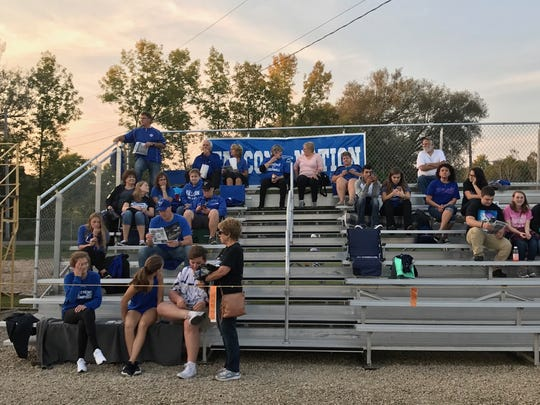 Falcon Nation was out in force to lend their support for Amherst in its Central Wisconsin Conference-Large showdown with Bonduel on Friday night.