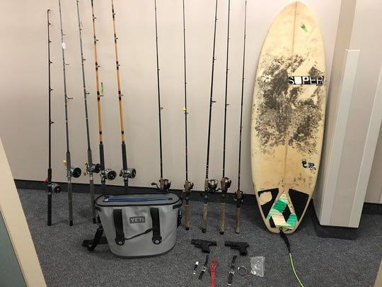 These stolen items were seized from Daniel Dolan