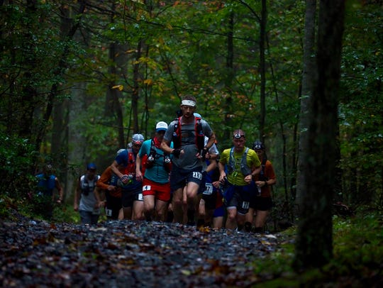 The Grindstone course is through mountains with 25,000