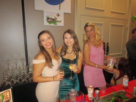 Brooke Hebert, Cassidy Crochet and Melissa Mathers