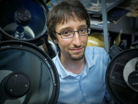 Marc Favata, an astrophysicist at Montclair State University,