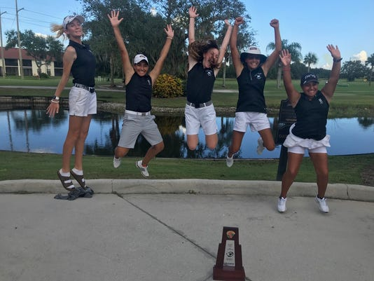 Gulf Coast girls golf