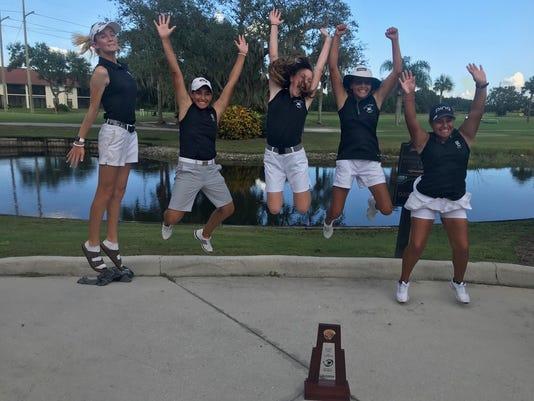 Gulf Coast girls golf