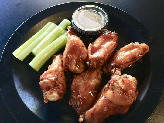 An order of the popular wings at Maxwell's Eatery on