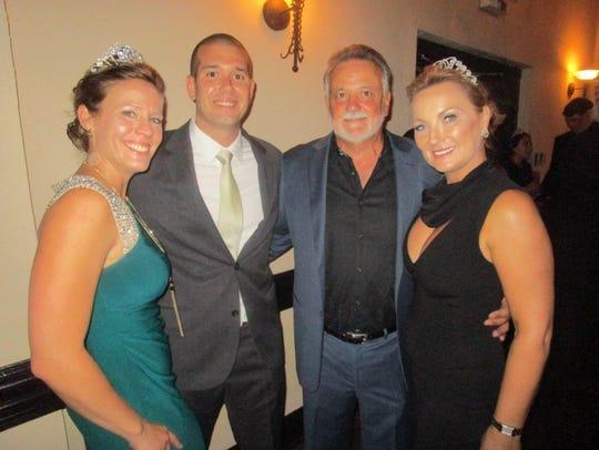 Joy and Joel Scallan, Kansas Hernandez and Aileen Dauterive