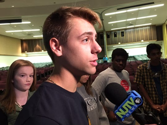 South Plainfield student Dylan Silverstein