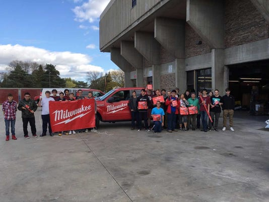 Menomonee Falls High School Partnership with Milwaukee Tool
