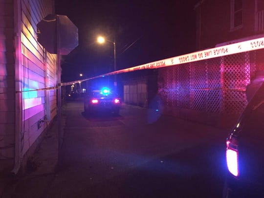 York City Police and the coroner are on the scene of a shooting in York.