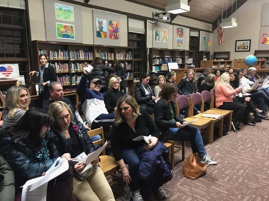 About 50 residents attended the Ho-Ho-Kus school board meeting on Tuesday, after the defeat of a $450,000 ballot proposal.