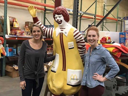 Ronald McDonald auction 3