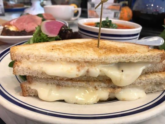 The Corner's cheese sandwich in Montcalir