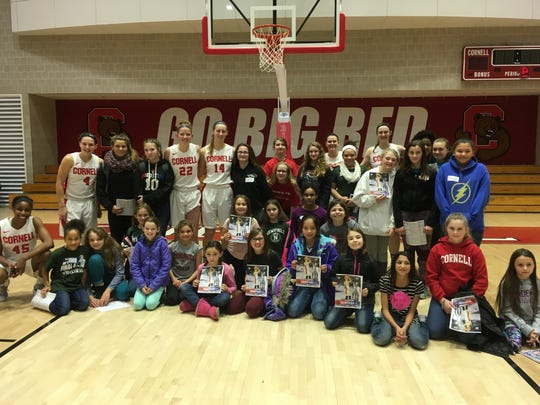 Newfield girls basketball players built connections