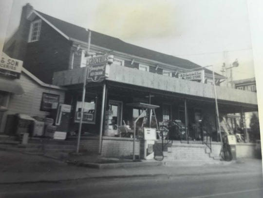 Gentzler's general store was the center of the community