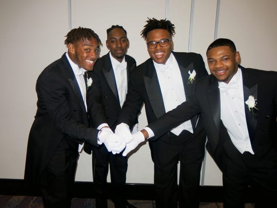 Beautillion Beaux: Devin C. Johnson, JaVion R. Canna,