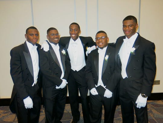 Beaux presented to society at the Beautillion ham it