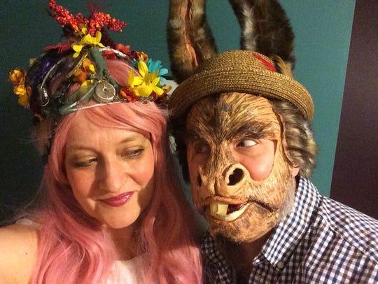 Jena Necrason and John Nagle, shown in a scene from