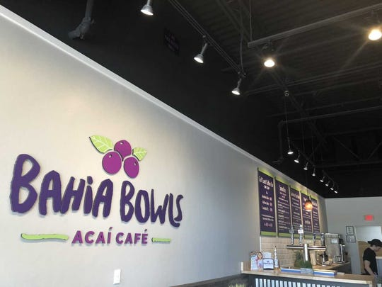 Bahia Bowls in Estero specializes in customizable smoothies and fruit bowls.