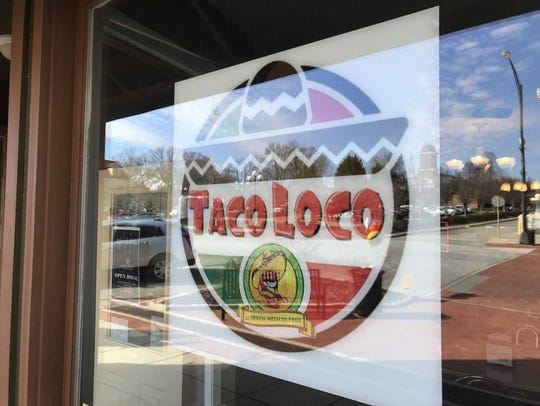 Taco Loco opened at 420 S. Main St. in downtown Anderson.