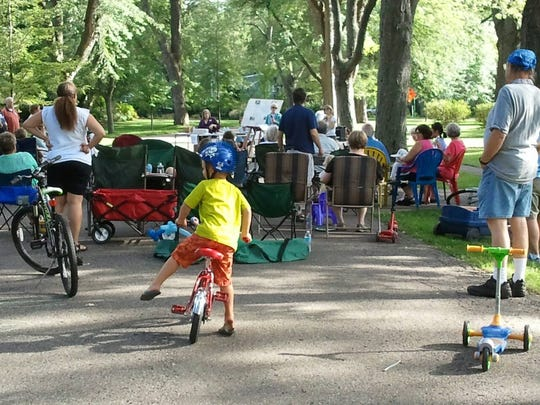 A 2013 neighborhood gathering in the Brookfield Heritage