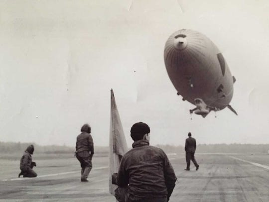 The Snow Bird was the record-setting blimp piloted
