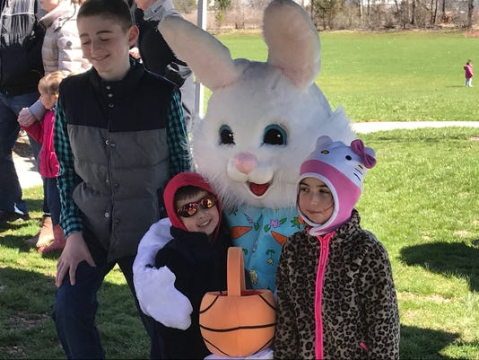 Annual Easter Egg Hunt, Hillsborough PHOTO CAPTION