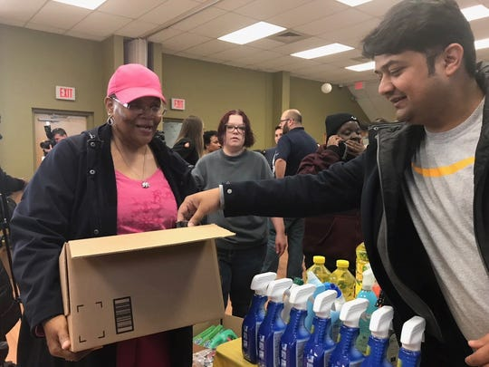 Several area families on Monday received much-needed