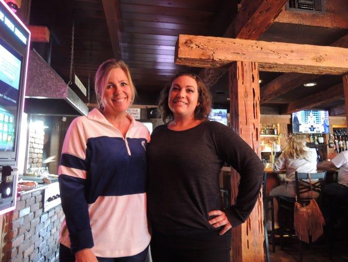 Owner Trisha Lande, left, and server Renee Rednour