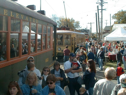 The East Troy Electric Railroad offers train rides