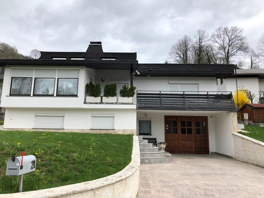 The home still owned in Sevnica by Melania Trump's