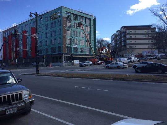 The last building at The North End apartment and retail development begins opening in May. It's between N. Water and N. Jefferson streets.